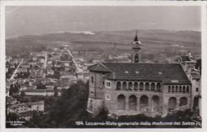 Switzerland Locarno Vista Generale dalla Madonna del Sasso Photo