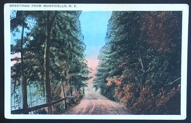 Greetings from Monticello NY 106654