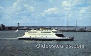 Newport Jamestown Ferry System, Narragansett Bay, Rhode Island, RI USA Ferry ...