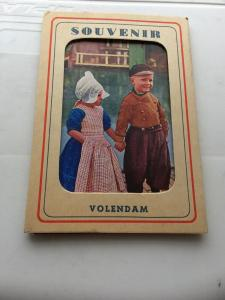 Vintage Souvenir Postcard Set of 8 Assorted Cards Volendam Netherlands