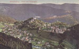 Germany Schwarzburg Blick vom Trippstein