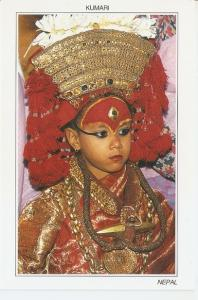 Postal 047251 : Kumari (Teh Living Goddess) Nepal