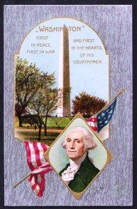 Washington – First in Peace, First in War - 1909