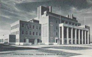 Minnesota Minneapolis Coffman Memorial Union University Of Minnesota Albertype
