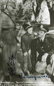 Autographed Chingwah Lee, Butch Jenkins & James Craig in MGM's Little Mr. ...