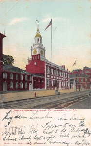 Independence Hall, Philadelphia, Pennsylvania, Early Postcard, Used in 1906