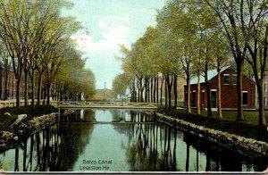 Maine Lewiston Bates Canal 1907