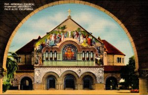 California Palo Alto Memorial Church Stanford University