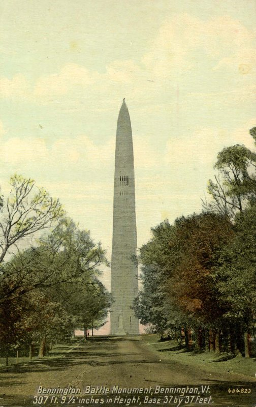 VT - Bennington. Battle Monument