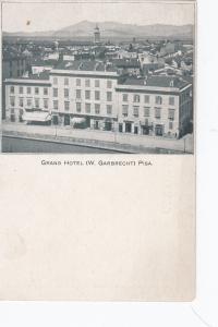 PISA , Italy , 1890s ; Grand Hotel #2