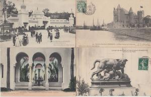 EXPOSITION MARITIME BORDEAUX (DEP.33) FRANCE WITH BETTER 30 CPA (1907)