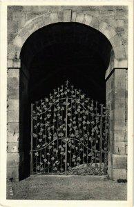CPA Abbaye de Fontfroide Grille en fer forge de la salle FRANCE (1013225)