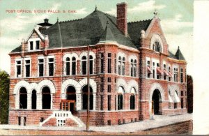 South Dakota Sioux Falls Post Office 1909