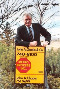 Metro Brokers Inc - John A Chapin & Co
