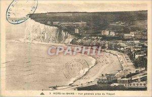Old Postcard Mers baths general view taken of treport