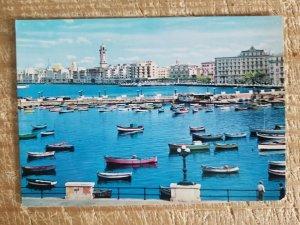BARI,ITALY SEEN FROM SEA.VTG UNUSED REAL PHOTO POSTCARD*P13