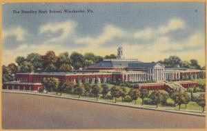 Winchester, VA., The Handley High School - 1947