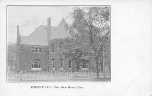 New Haven Connecticut~Dwight Hall Yale~1905 Postcard