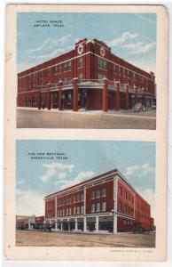 Hotel Grace, Abilene & New Beckham, Greenville TX