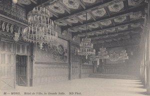 MONS , Belgium , 00-10s ; L'Hotel de Ville , La Grande Salle