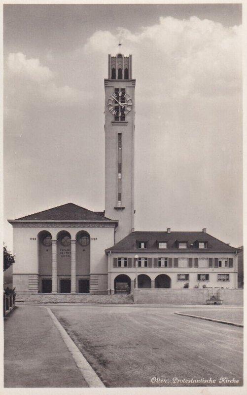RP; OLTEN, Solothurn, Switzerland, 1920-1940s; Protestantische Kirche