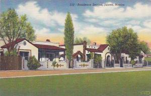 Residence Section, Juarez, Mexico, 1930-1940s