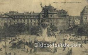 Place de la Republique Paris, France Paris, France Place de la Republique