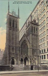 First Presbyterian Church, Sixth Avenue, Pittsburg, Pennsylvania, 00-10s