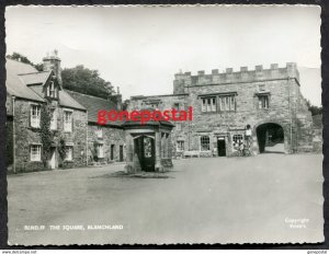 dc730 - UK England 1960s BLANCHLAND Post Office. Real Photo Postcard