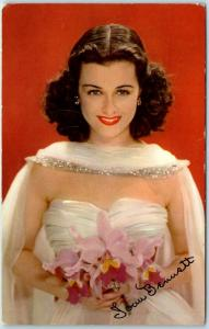 Vintage Celebrity Postcard JOAN BENNETT American Film Movie Actress c1941