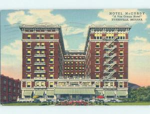 Linen HOTEL SCENE Evansville Indiana IN H1037