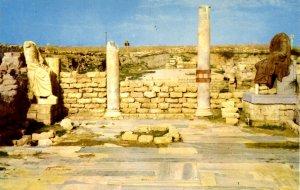 Israel - Caesarea. Ruins of Public Byzantine Complex