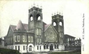 M.E. Church Parkersburg IA Unused