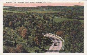 Massachusetts Mohawk Trail Mohawk Trail Over Shelburne Summit
