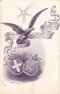 Military , Italy , 1890s , Distreti Militare di MONZA