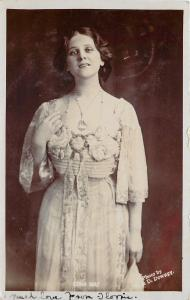Theatre Ladies~Edna May~In Lace Dress~The Belle Of New York~Played Violet~London