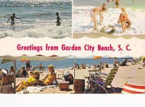 Scenic Greetings from Garden City Beach,  South Carolina,  40-60s
