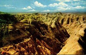 South Dakota Badlands National Monument Erosion Of The Ages