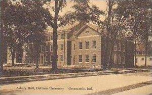 Indiana Greencastle Asbury Hall De Pauw University Albertype