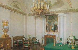 Tower Of Pushkin Service Room Catherine Palace Leningrad Russia Postcard