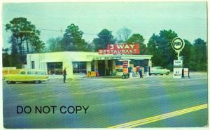 3-Way Restaurants, Pure Gas Station, Folkston GA