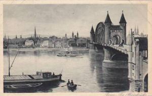 Germany Bonn Die Rheinbruecke