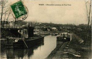 CPA WASSY Estacade et panorama de Pont-Varin (864710)