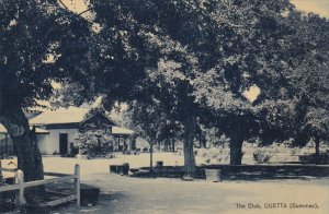 QUETTA, Pakistan, 1900-1910´s; The Club, Summer Scene