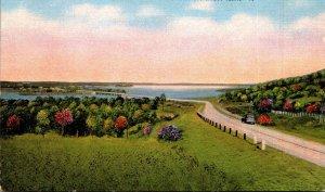Texas Waco Waco Dam and Lake On Highway 67