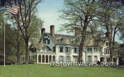 ringwood manor house ringwood manor state park nj unused hippostcard