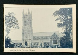 Vintage Postcard, PARISH CHURCH, ST. PATRICK'S, COLERAINE, UNPOSTED