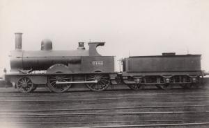 LNWR Class 2-4-0 No 2145 Precursor Built 1874 Vintage Train Photo