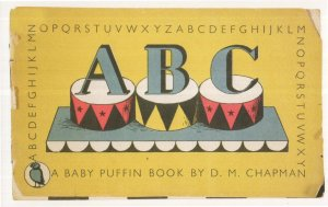 A Baby Puffin Book 1943 Wartime Paperback Postcard