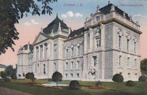 COLMAR i. E. , France, 1900-1910's; Oberlandesgericht